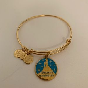 Alex and Ani Gold Cinderella Believe in Every Wish